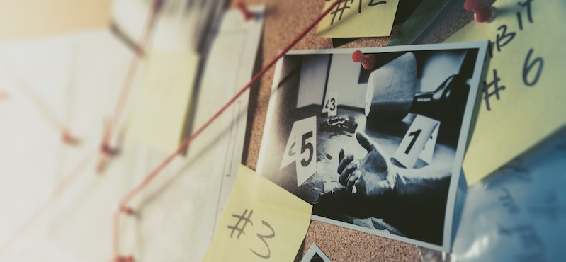 CityGames Düsseldorf: Gruppen Notizen helfen bei der Lösung der Krimi Tour